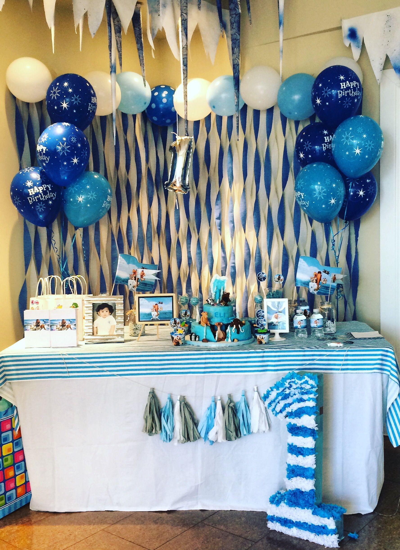 Happy 1st Birthday Eli Com Imagens Festas De Aniversario No