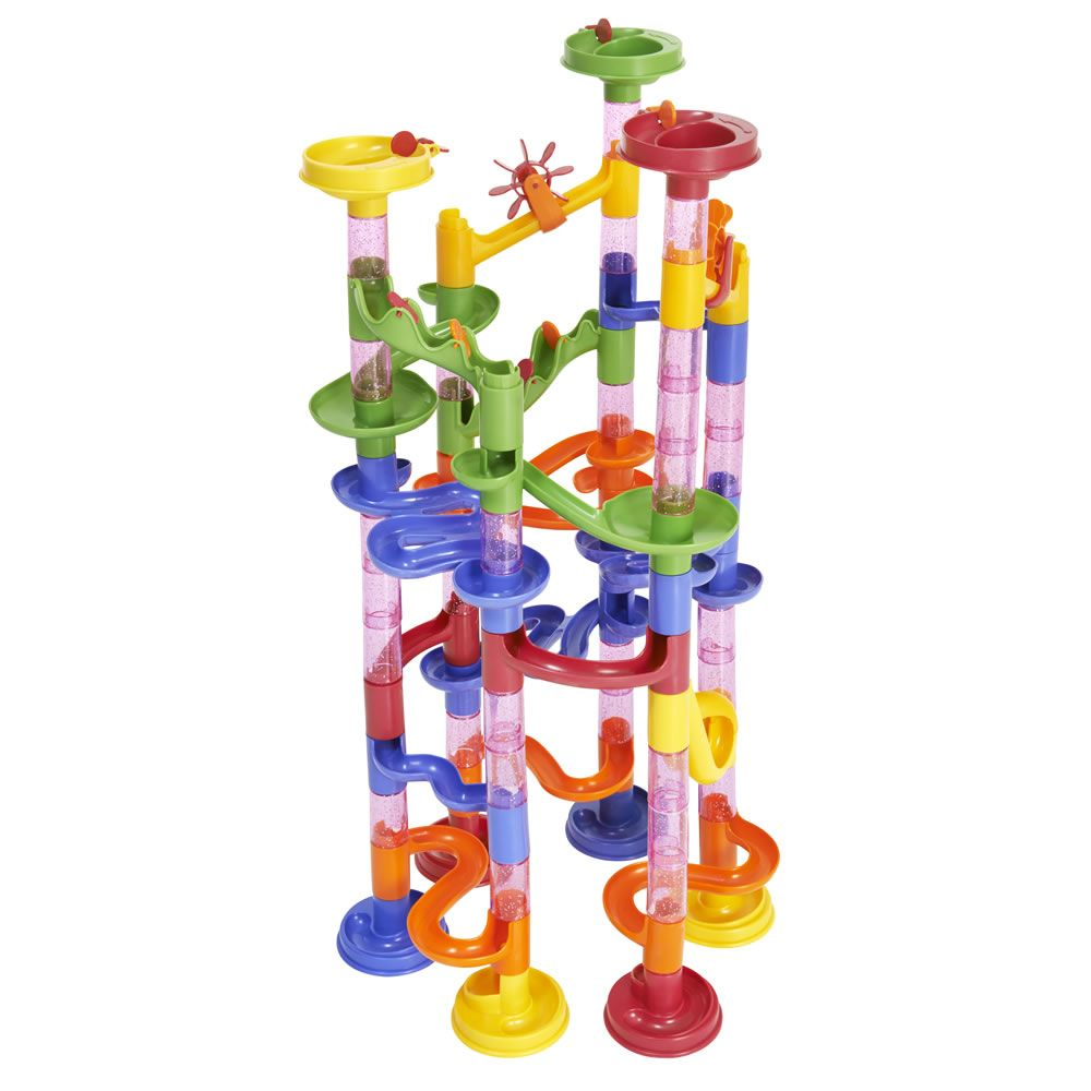 wilko play marble race 90pcs | wilko | marble race, outdoor