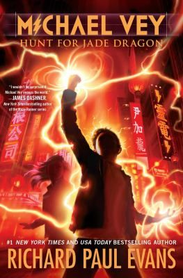 Michael Vey : hunt for Jade Dragon // Michael, Taylor, Ostin, and the rest of the Electroclan head to Taiwan in search of nine-year-old child prodigy Lin Julung, or Jade Dragon, who the Elgen kidnapped for Hatch's army of electric children.