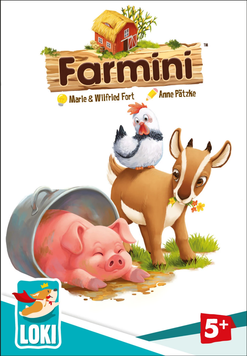 Farmini Board games for kids, Games for kids, Loki