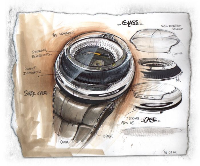 Sketchbook by Baptiste MATHIEU at Coroflot.com. #id #product #sketch