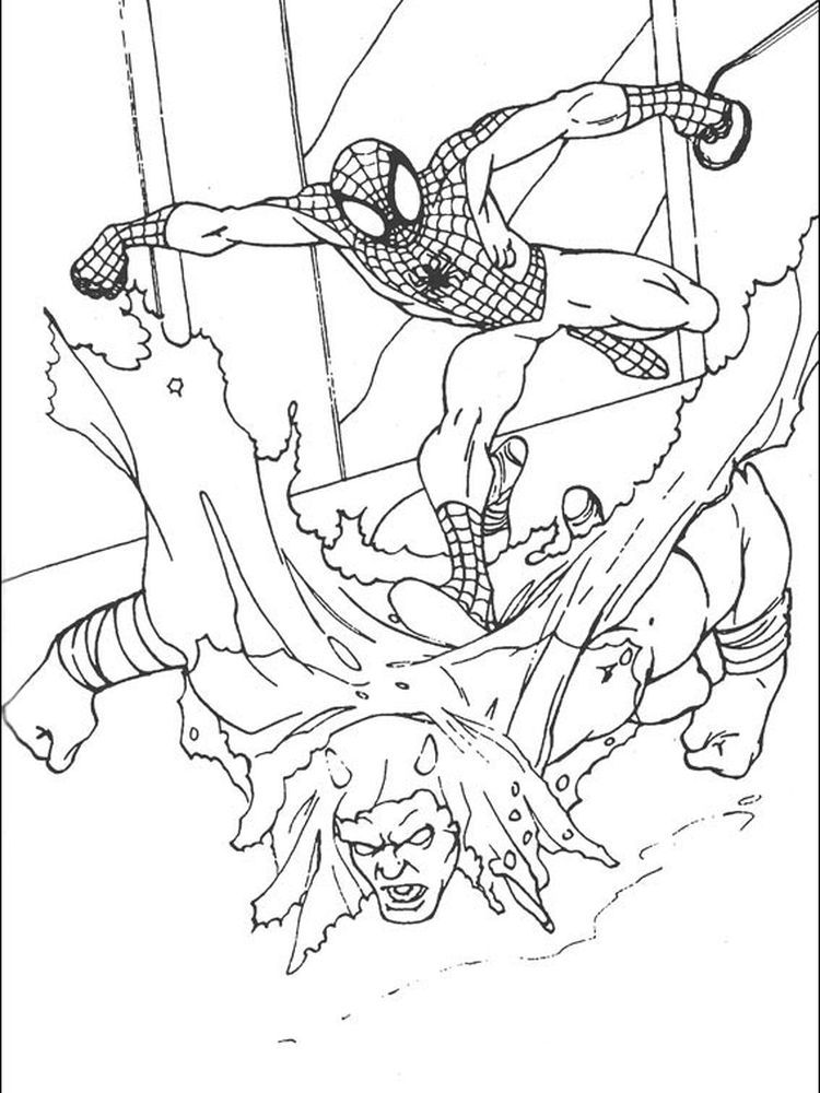 Spiderman Colouring Book Pages Following This Is Our Collection Of Spiderman Coloring Page You Are Free To Download And Make It Your Child S Learning Material