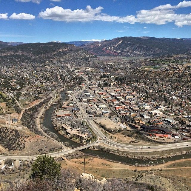 Cool Places In Colorado: Here's A Bird's Eye View Of Durango, Colorado From Smelter