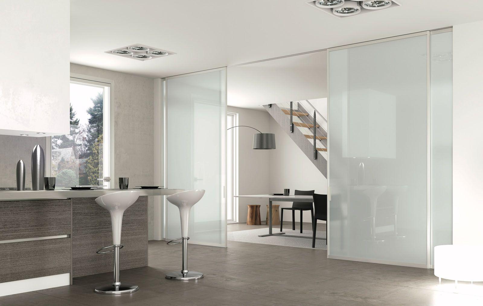 kitchen | Ideas for my home | Porte vetro scorrevoli, Porte ...