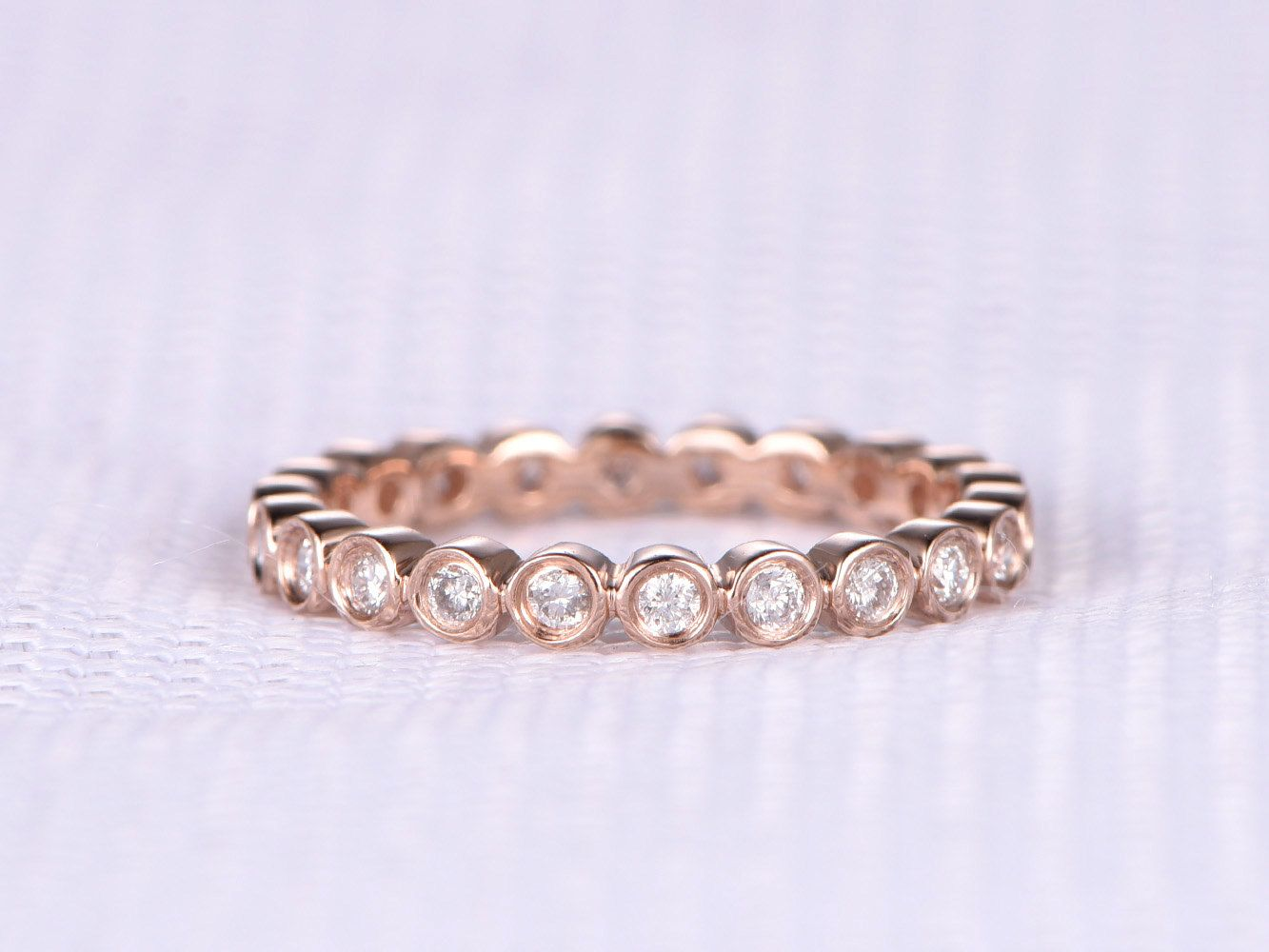 lima infinity box rose gold band fashion pin rosados diamond wedding