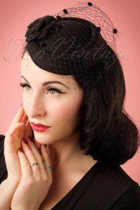 83f0eb110c0 Dancing Days by Banned Mailyn Fascinator black 201 10 21121 03062017  model01W
