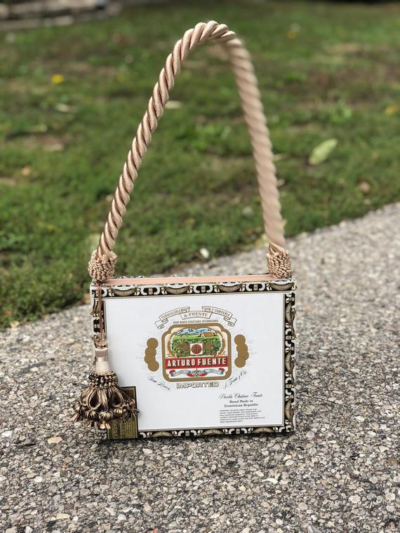 Cigar Box Purse - VLM Collection handmade by Victoria No. 2 ... 8b5dfa9a4b4ca