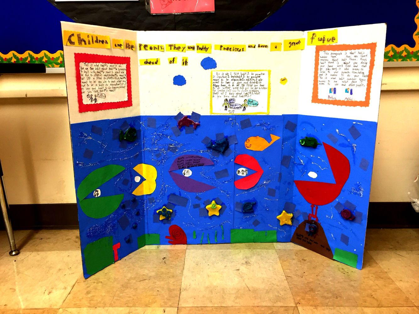 Sean Covey 7 Habits Inspired Paragraph Writing Boards For