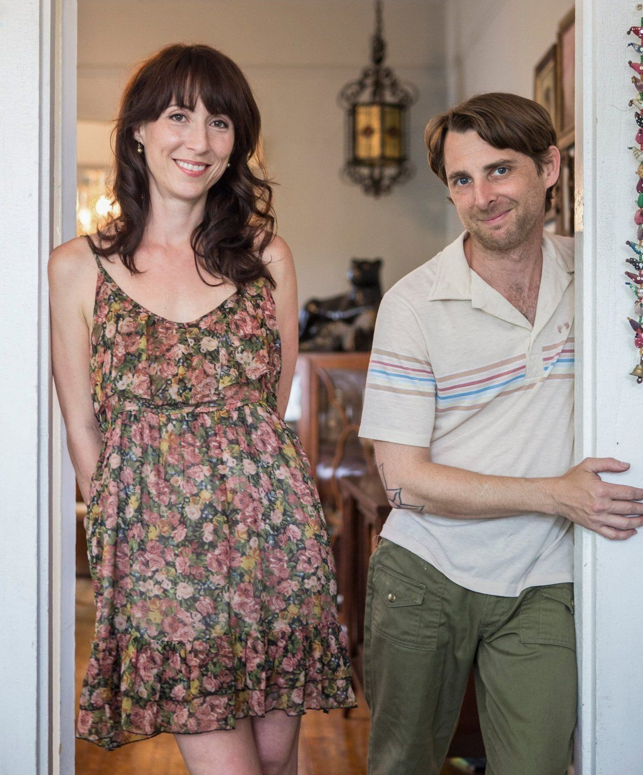 Sarah & Jeremy's Quirky '70sInspired New Orleans