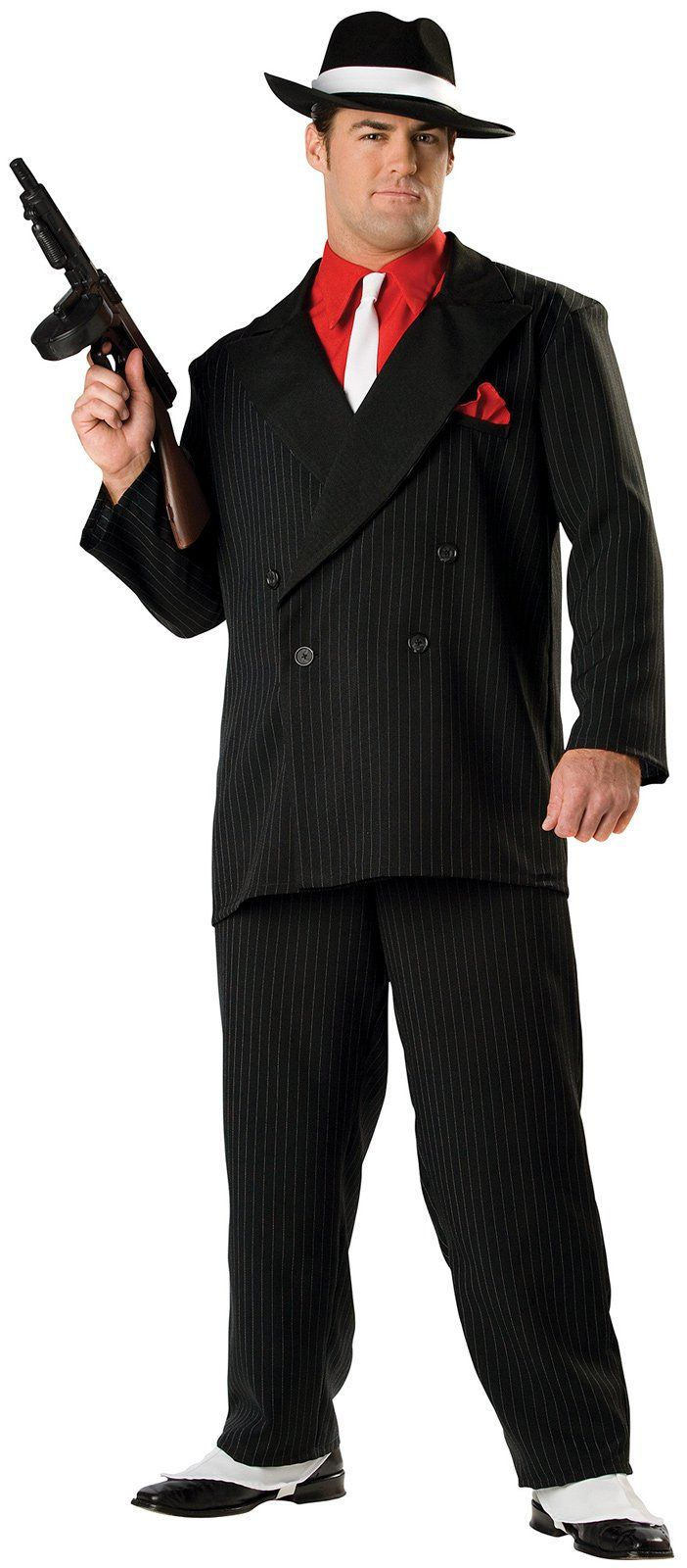 Mobster adult gangster costume massive