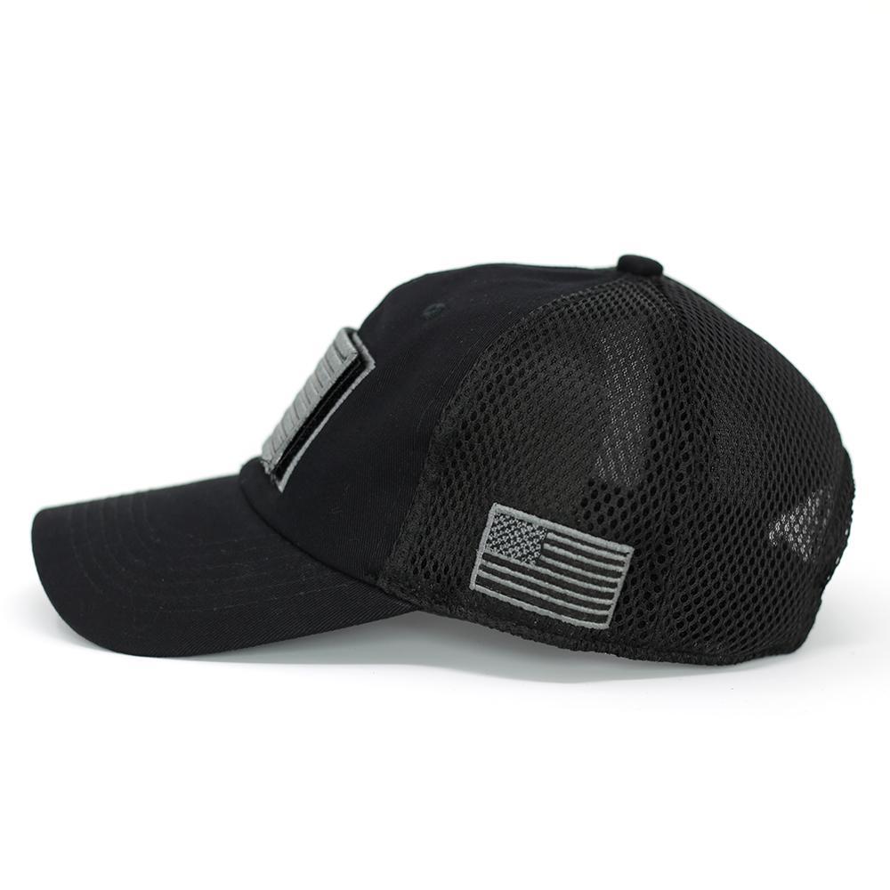 Bw usa flag velcro patch baseball cap