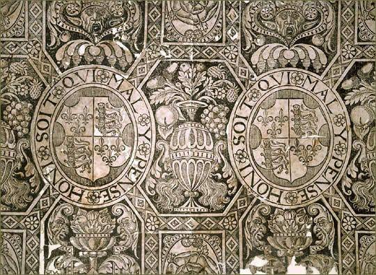 Design - Paper - Wallpaper - Tudor Wallpaper