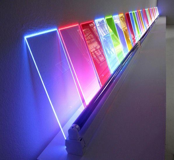 Eric michel passage de lumi re 2009 light for Neon artiste contemporain