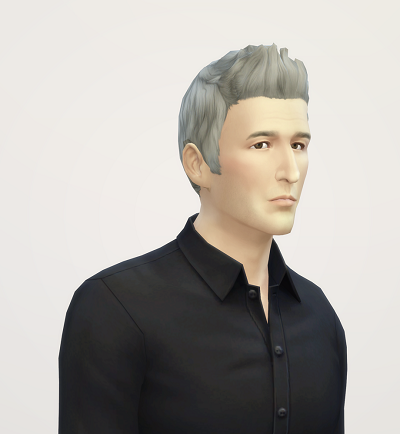 My Sims 4 Blog: Dreamy Flip Hair Edit for Males by Rusty Nail