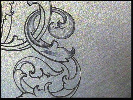 engraving letter templates - sam alfano 39 s tips tricks for hand engravers leaf