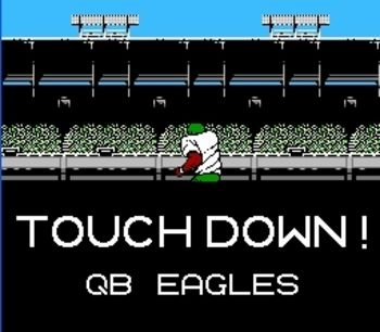 Image result for qb eagles tecmo