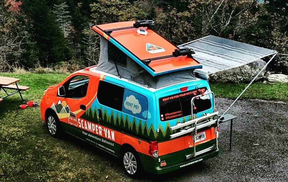 Campervan rentals the best vans for an epic road trip