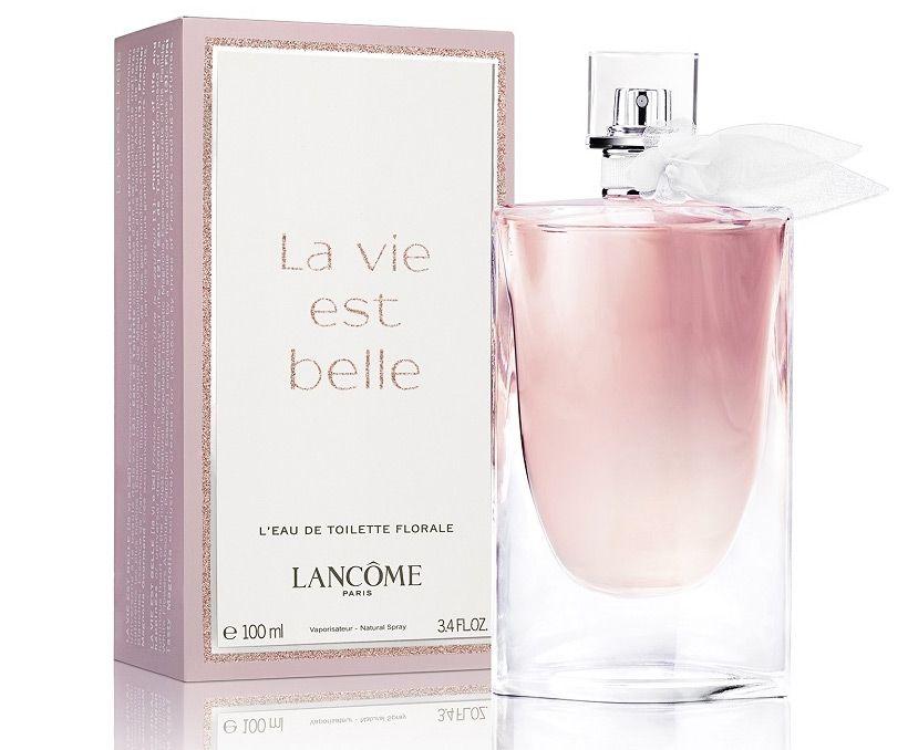 Belle Toilette Est De Florale Lancôme Vie La L'eau ARL354jq