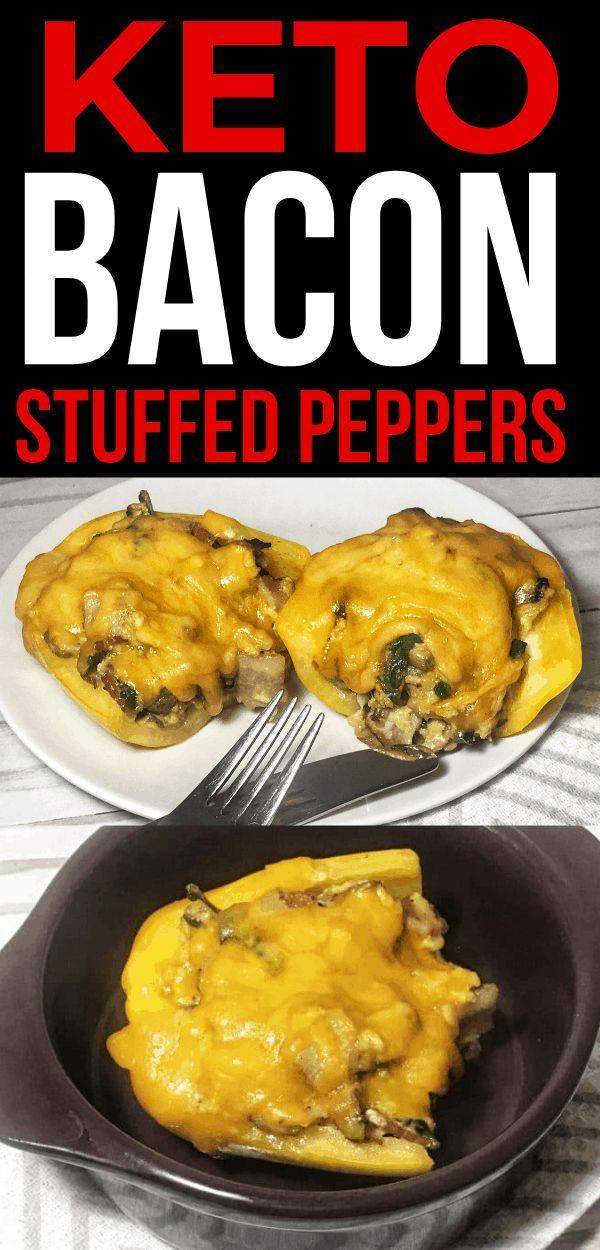 Keto Stuffed Peppers #bellpepperrecipes