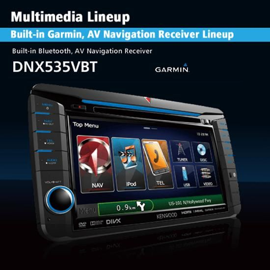 KENWOOD DNX535VBT Multimedia Receiver Windows