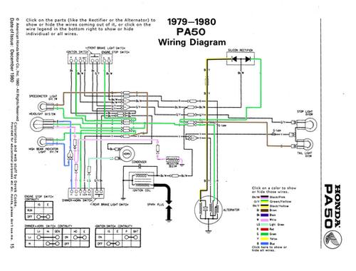honda pa50 wiring diagram wds bmw wiring diagram system