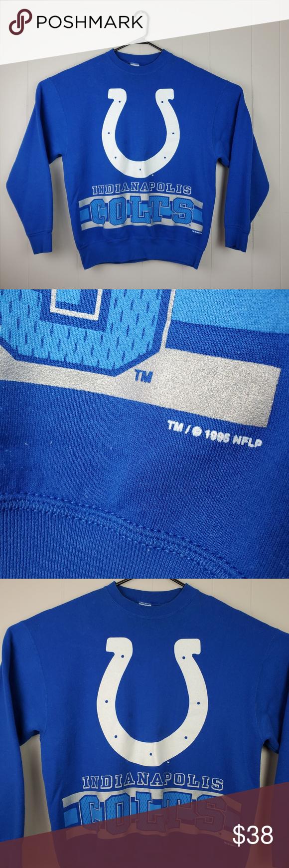 Vintage 1995 Indianapolis Colts Sweatshirt Vintage Indianapolis Colts Salem Sportswear 1995 Crewneck Sweats Sweatshirts Vintage Sweatshirt Crew Neck Sweatshirt [ 1740 x 580 Pixel ]
