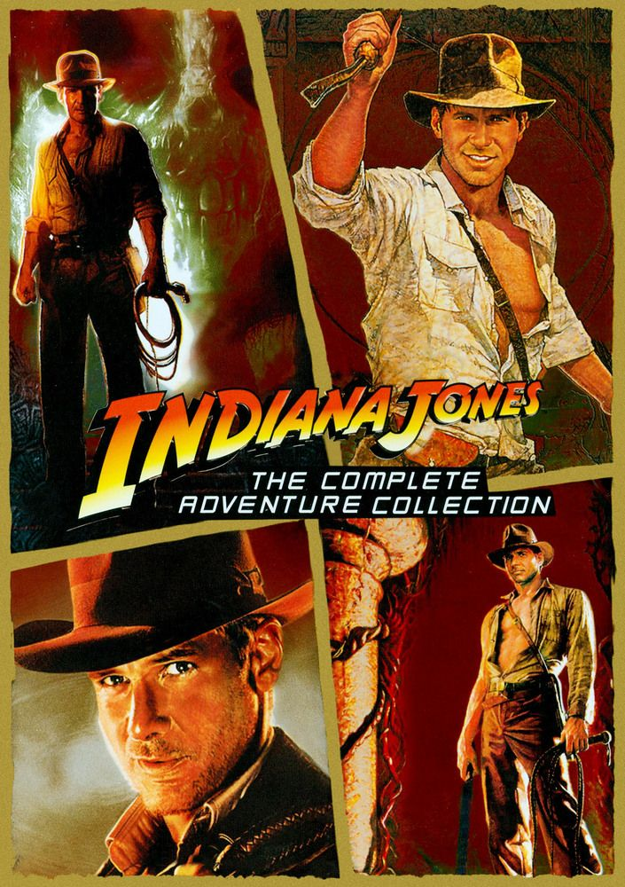 Indiana Jones The Complete Adventures Collection Ws 5 Discs Dvd Best Buy In 2020 Indiana Jones Films Indiana Jones Indiana