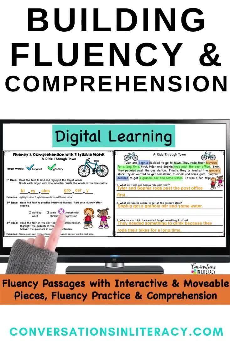 Digital Fluency Passages Decoding Multisyllabic Words Video In 2021 Multisyllabic Words Decoding Multisyllabic Words Fluency Passages [ 1102 x 734 Pixel ]
