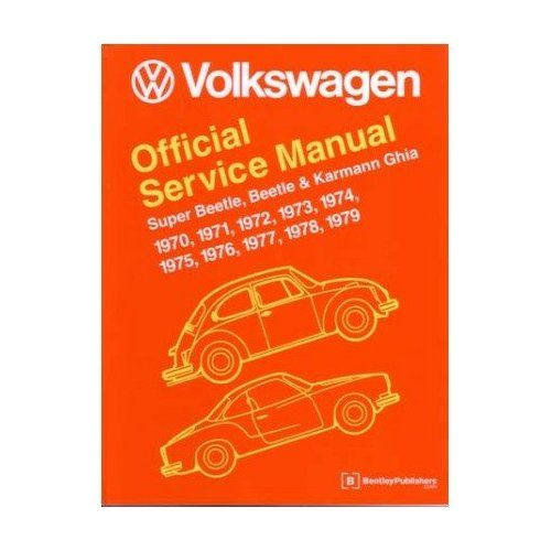 1970 1979 Vw Beetle Karmann Ghia Shop Service Repair Manual Engine Electrical Reviews Bugpart Com Parts Vw Bug Parts Vw Fusca Fusca Manualidades
