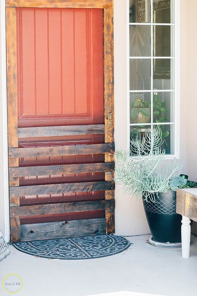 How to Build a Screen Door from a Pallet (With images ...