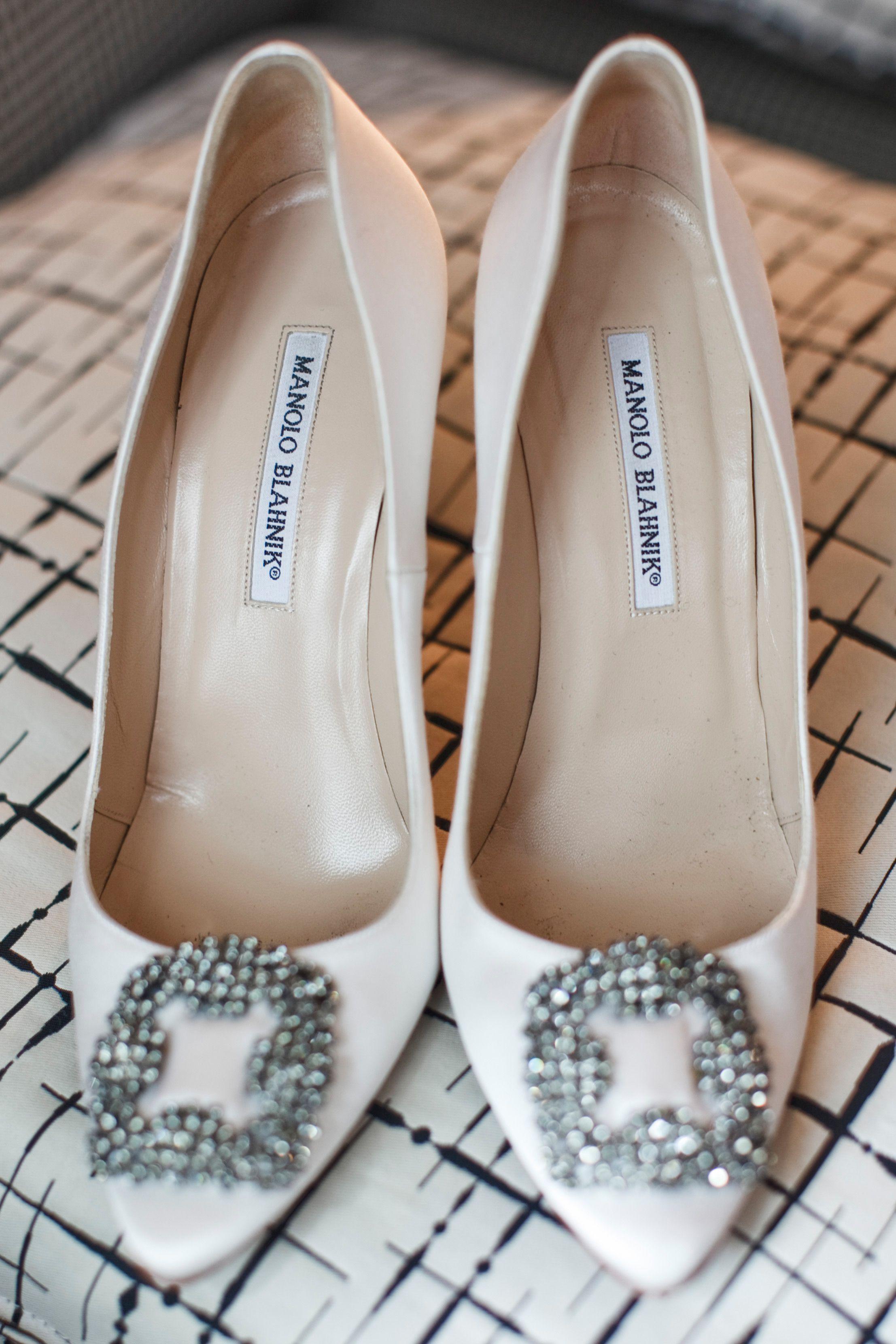 Modern Elegant Wedding In Toronto Shoe Inspiration Wedding Shoes Manolo Blahnik