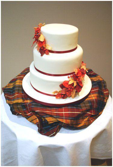 Autumn Leaves Wedding Cakes Heathers Cakes Designer Wedding and