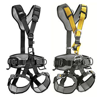 9990d976f3b Petzl Navaho Bod Croll Fast Harness. This harness is designed for  rope difficult access and incorporates the CROLL ventral rope clamp into  the harness .