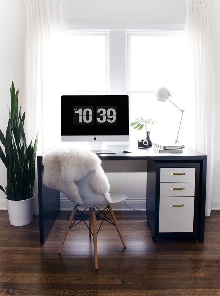 An Organized Workspace Home Office Design Desk Accessories Chic