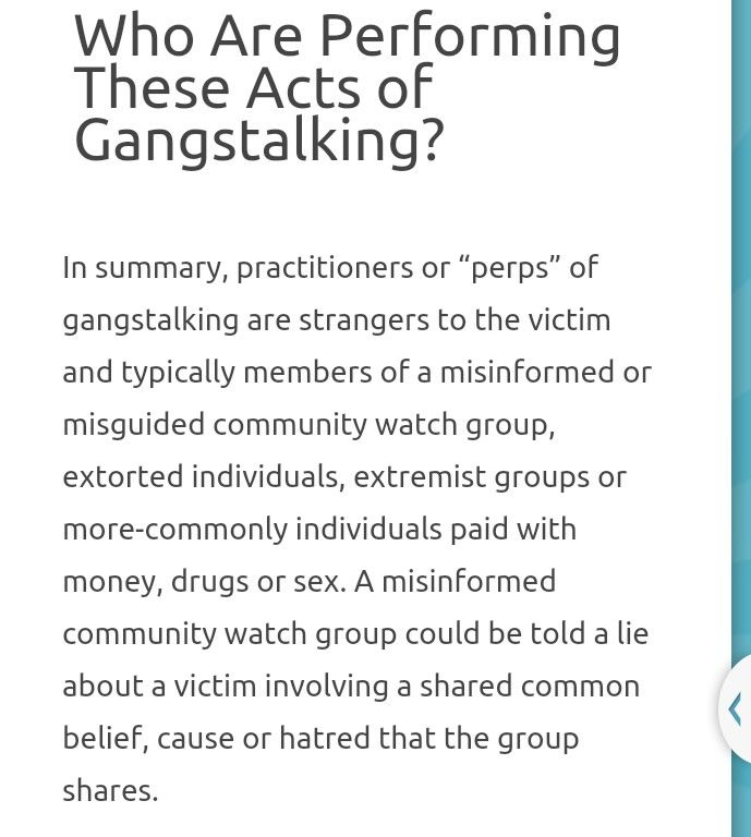 Gangstalking Toolbox: They GPS and alert others where the target is