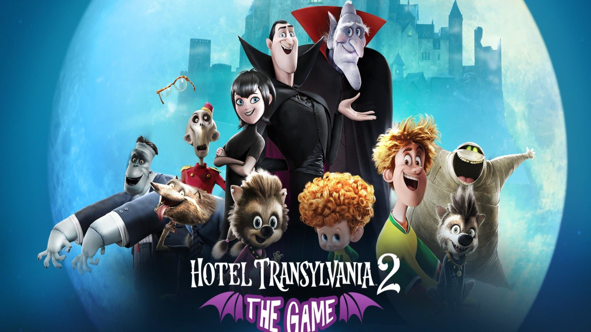 Hotel Transylvania 2 Hd Wallpapers Backgrounds