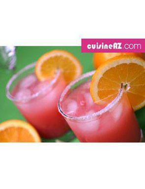 Recette Cocktail De Jus De Fruits Pour 6 Personnes Grand Frais