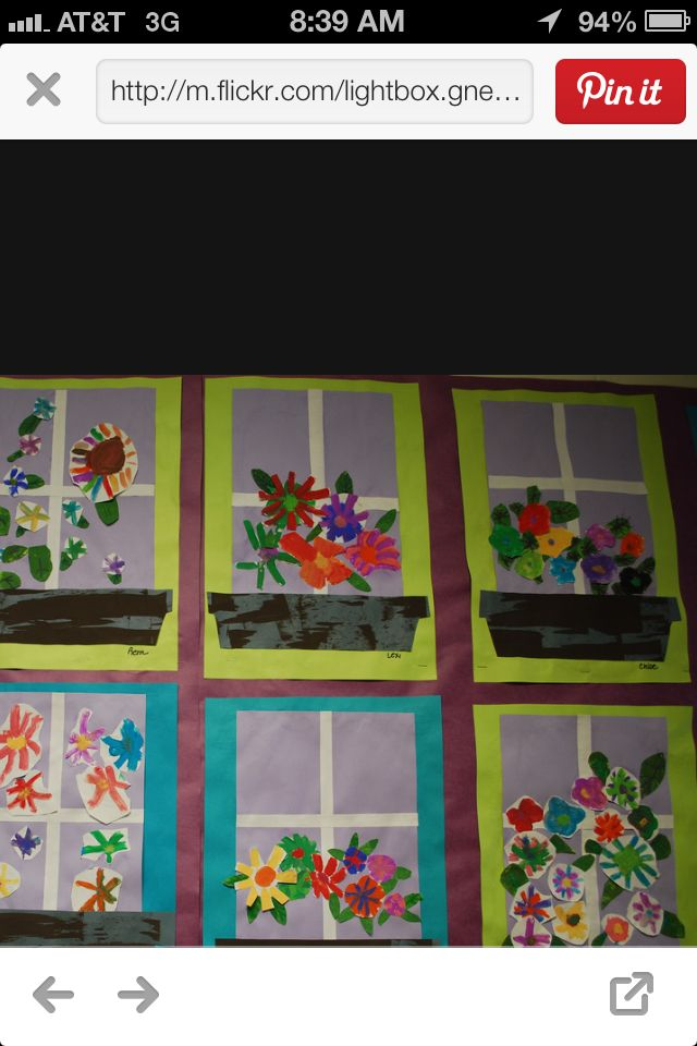 Window flower box   Projects to Try   Spring art projects, Spring