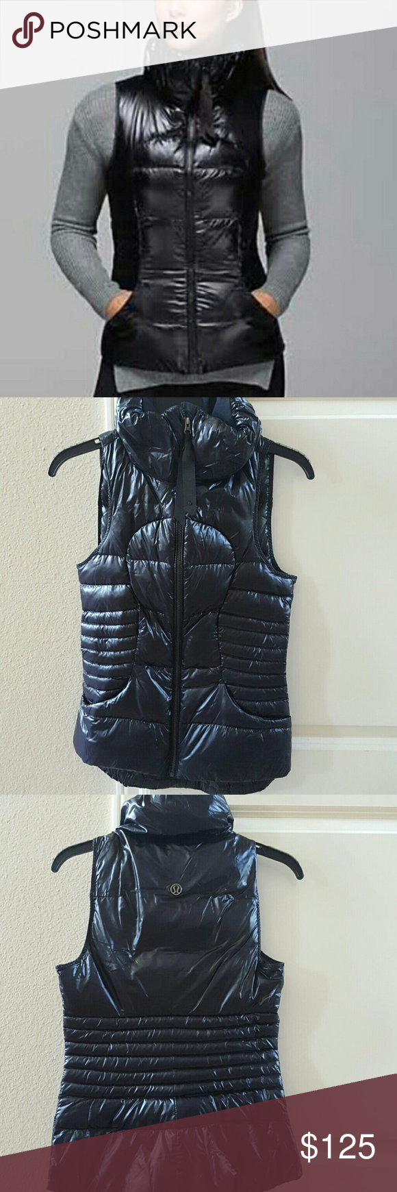 Lululemon Fluffin Awesome Vest Worn less than a handful of times. EUC. Rip tag removed for comfort. Very fashion forward and versatile. Own this! lululemon athletica Jackets & Coats Vests