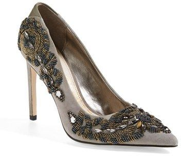 b33f4ec4995a9d Sam Edelman  Dani  Beaded Pointy Toe Pump (Women)
