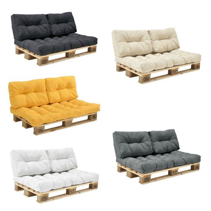 Cojines para palets: decora tus muebles – I Love Palets