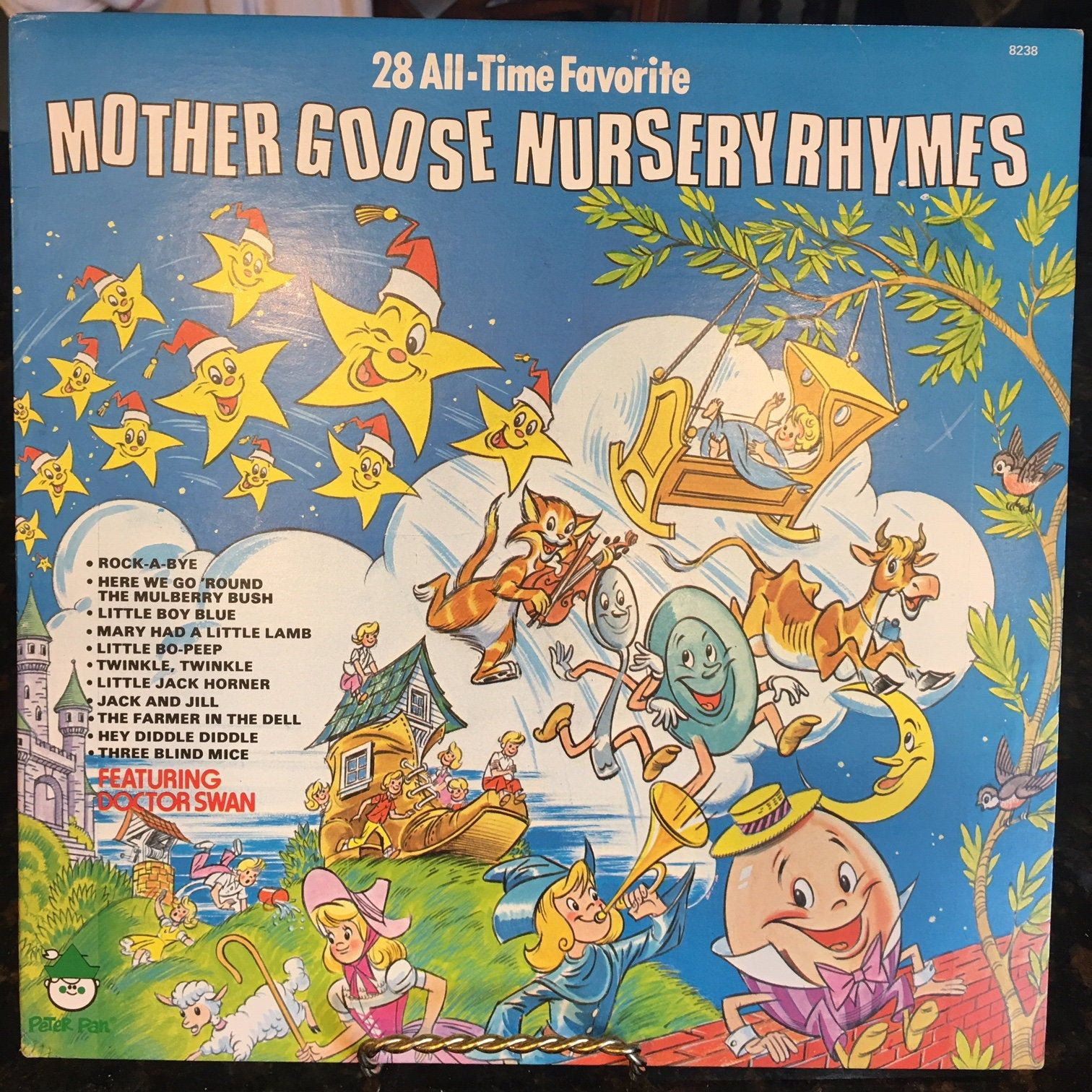 Mother Goose Nursery Rhymes Peter Pan Records Dr