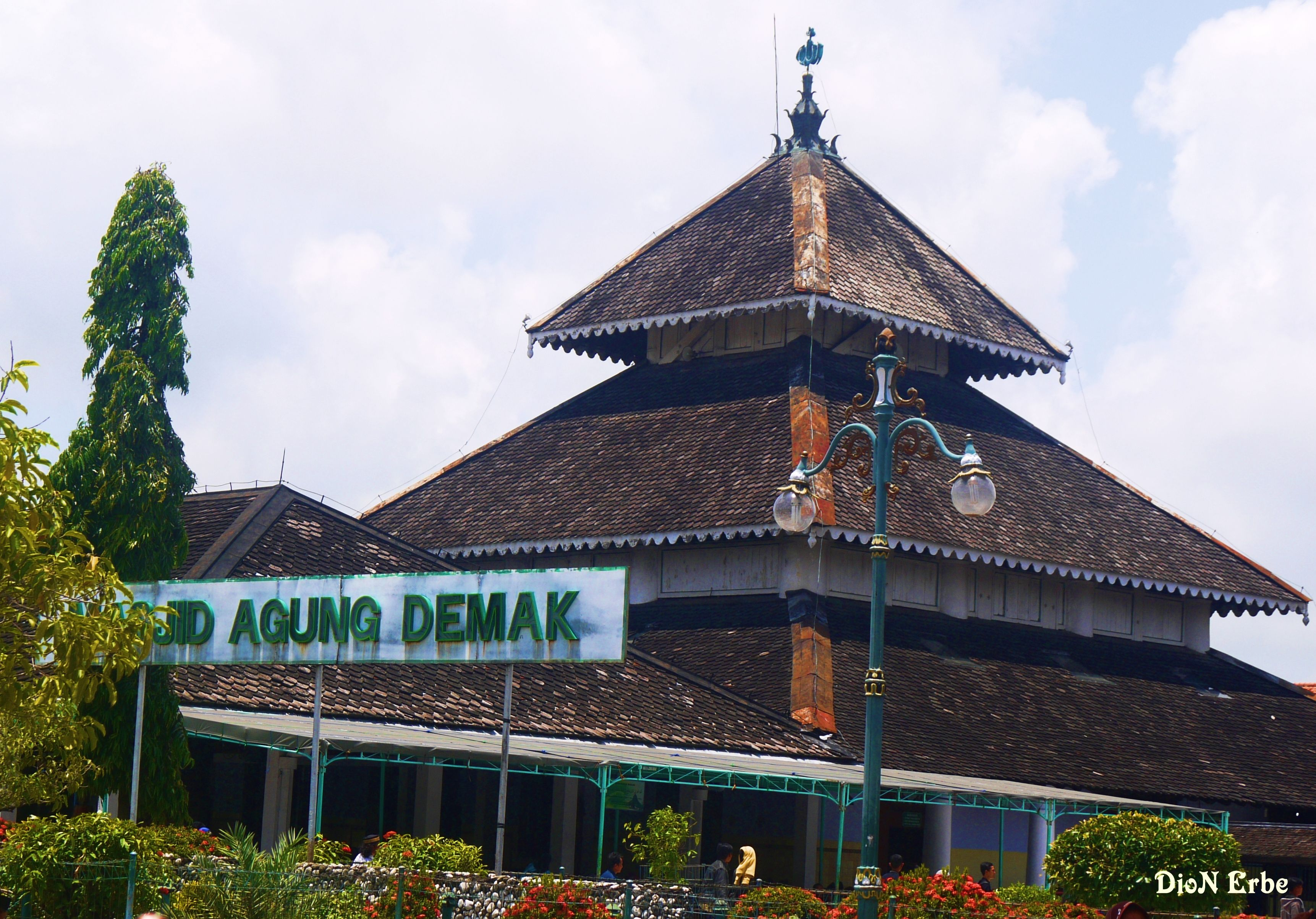 Masjid Agung Demak Is A Historical Masjid This Is The First