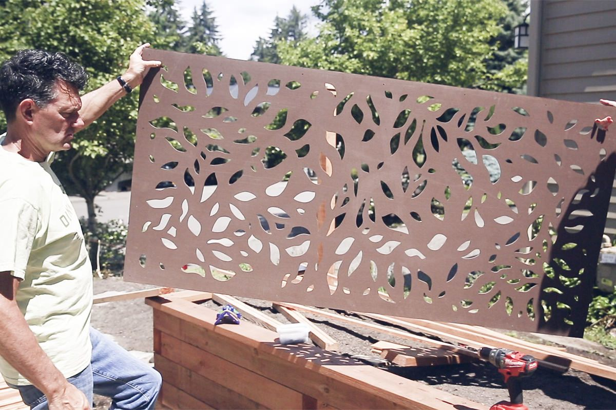 Modinex Decorative Fence Panel Decorative Fence Panels Outdoor Panels Fence Design