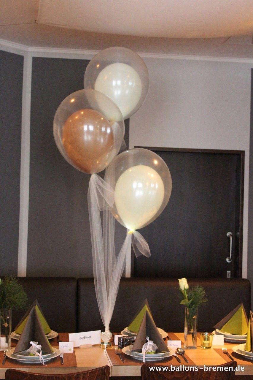 Ballondekoration  Ballonknstler aus Bremen  Hochzeit