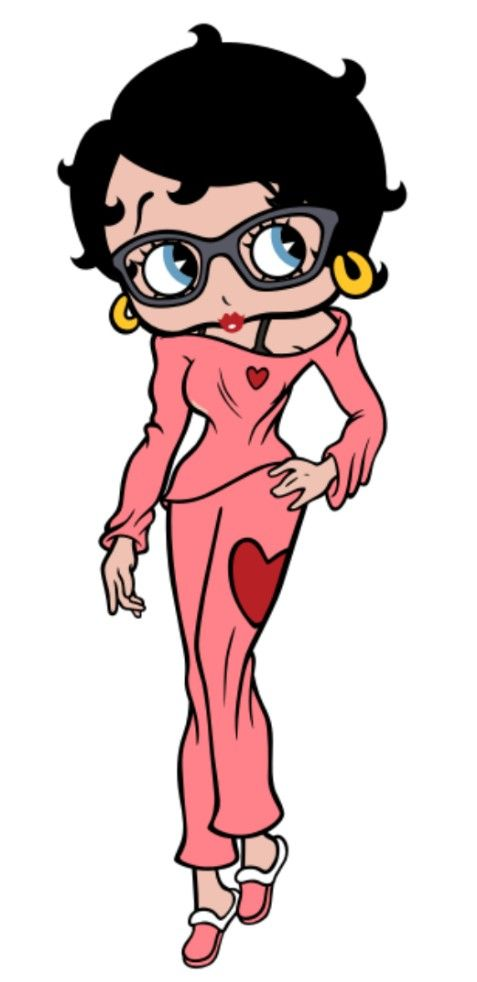 5D Diamond Painting Betty Boop and her little Pal Kit