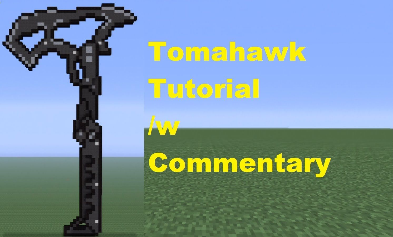 Minecraft 360: How To Build A Tomahawk How To Clear Cache