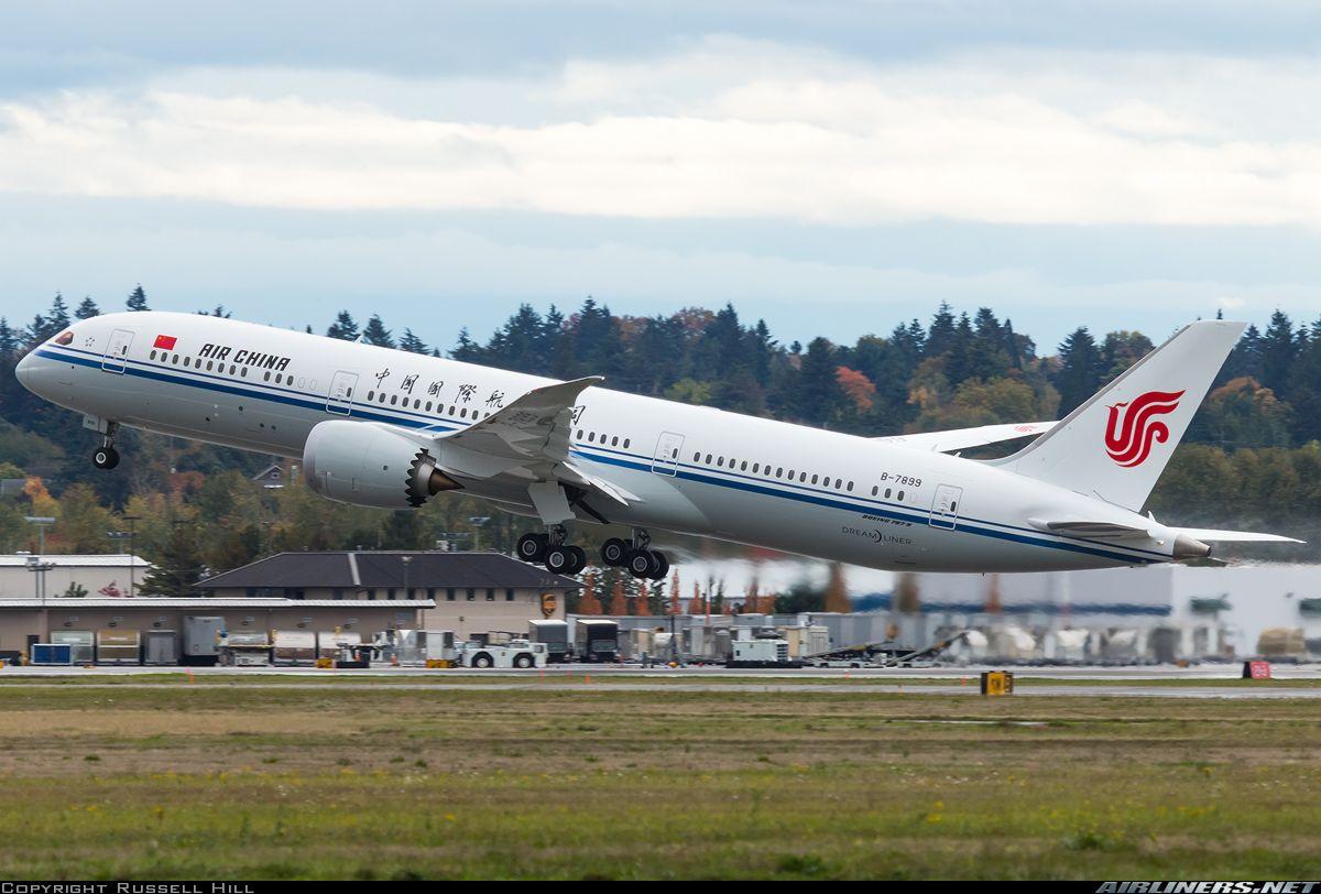 Air china boeing 7879 dreamliner air china boeing 787