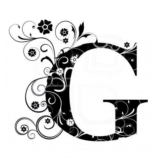 Letter Capital G