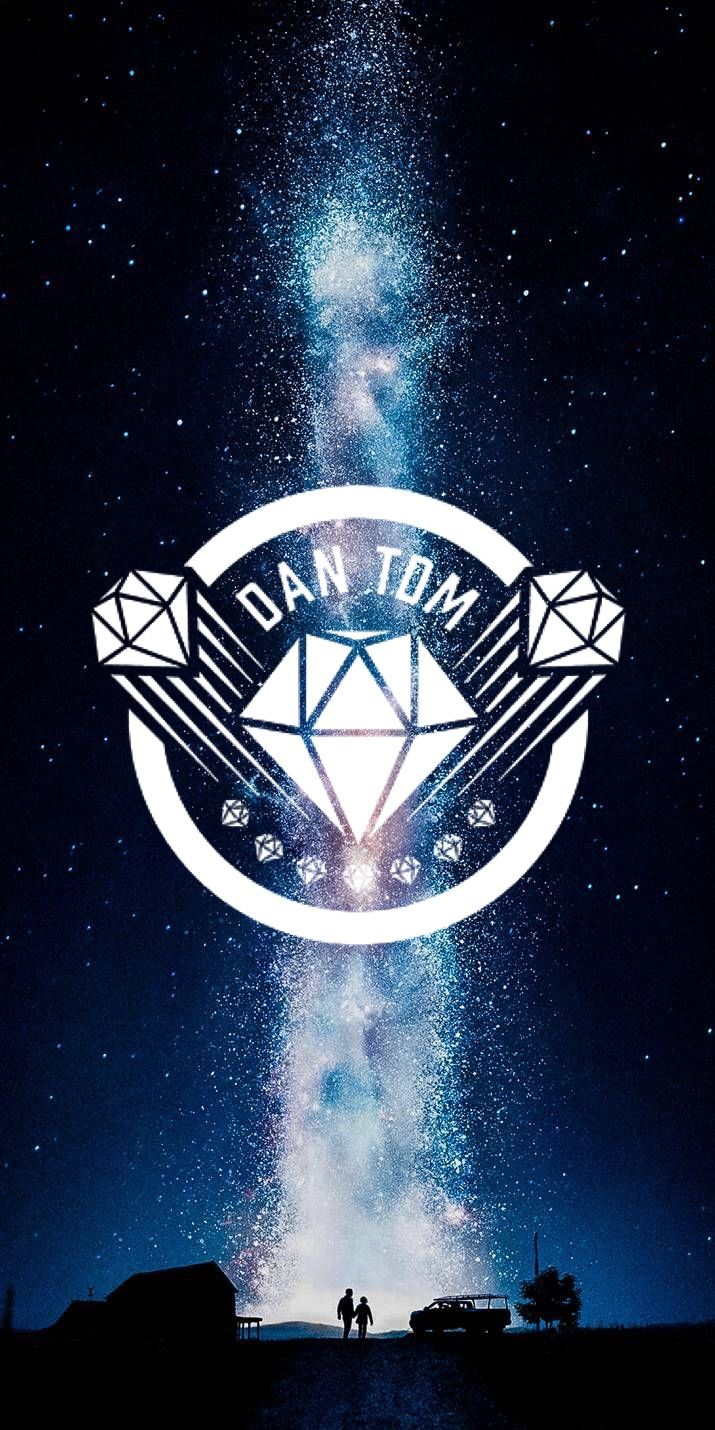 aesthetic DanTDM logo wallpaper Dantdm, Minecraft